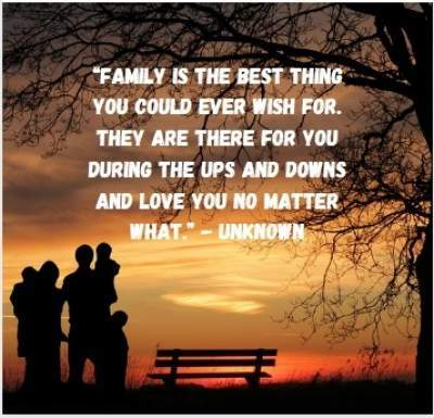 about family quotes with picture