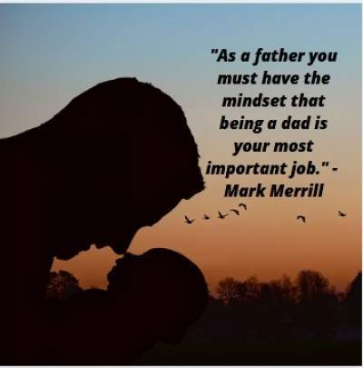 quotes on being a father and dad