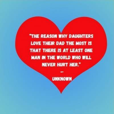 quotes on daughters love for dad