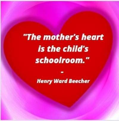 quotes on mothers heart