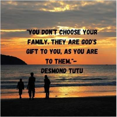 quotes on family by Desmond Tutu