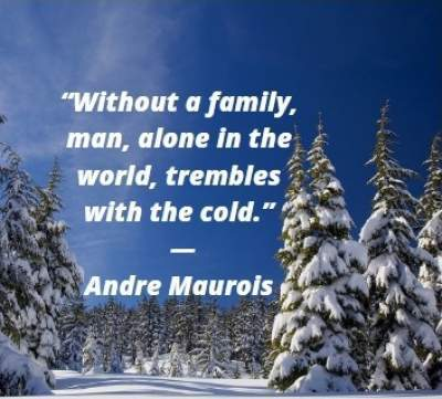 quotes on without family