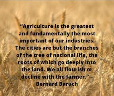 quotes on agriculture industry