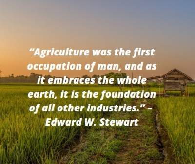 quotes on agriculture occupation