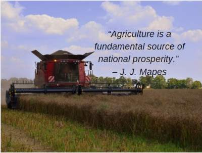 agriculture prosperity quotes