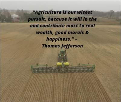 quotes on agriculture is our wisest pursuit