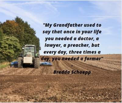 inspirational quotes on farmers