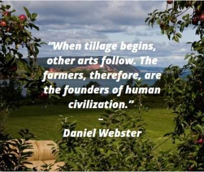 farmer quotes on human civilization