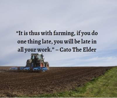 famous quotes about farming