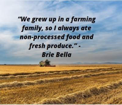 quotes by  Brie Bella on farming family