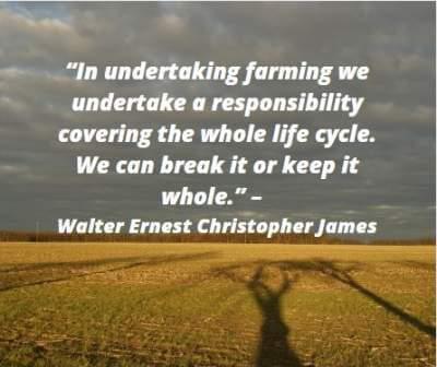 undertaking farming quotes